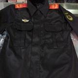 武警黑色作训服 特战服