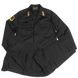 武警黑色特种部队反恐特战服特勤服
