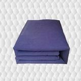 新款藏青色热熔棉花被7斤