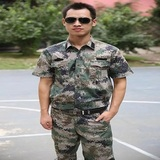 07陆军正品丛林迷彩短袖