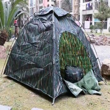 正品武警特战虎斑帐篷