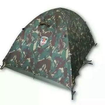特种部队配发猎人迷彩单兵帐篷