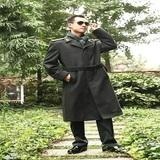 07陆军军官羊毛妮子大衣