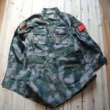 07式丛林作训服 部队丛林迷彩服