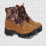 07式冬季荒漠低帮防寒靴羊毛