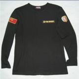 特种部队闪电长袖T恤 体能训练服 人民解放军T恤