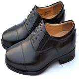 07B校尉常服三接头皮鞋