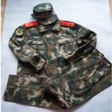 12式武警迷彩服 最新式作训服 正品冬武警迷彩服