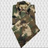 15年新式武警冬季数码林地迷彩作训服套装